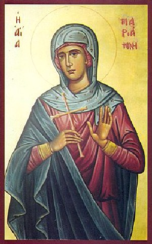 Αγία Μαριάμνη η Ισαπόστολος αδελφή του Αγίου Φιλίππου του Αποστόλου. 17 Φεβρουαρίου ε.ε.