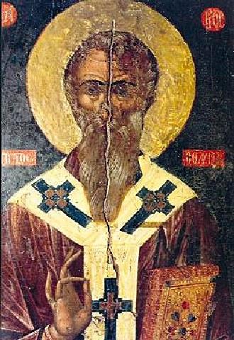 Άγιος Αρίστων ο θαυματουργός, επίσκοπος Αρσινόης Κύπρου. 22 Φεβρουαρίου ε.ε.