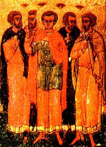 Άγιος Αγάπιος και των συν αυτώ μάρτυρες. 15 Μαρτίου ε.ε.