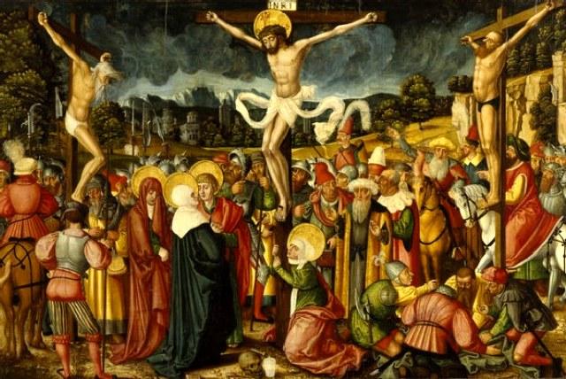Σήμερον ο Θεός εν τω Σταυρώ κρεμάται.