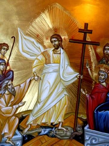Θεολογικό σχόλιο στην Ανάσταση του Κυρίου, του κ Λάμπρου Σκόντζου.