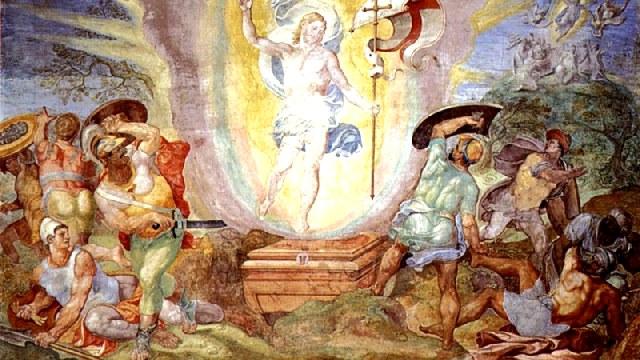 Λόγος Αγίου Ιωάννου Χρυσοστόμου, στην Αγία και λαμπροφόρο Ανάσταση του Κυρίου.