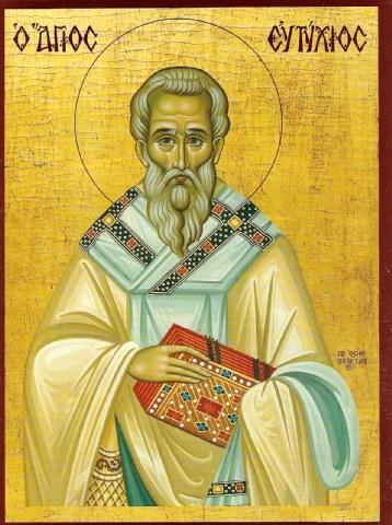 Άγιος Ευτύχιος πατριάρχης Κωνσταντινούπολης. 6 Απριλίου ε.ε.