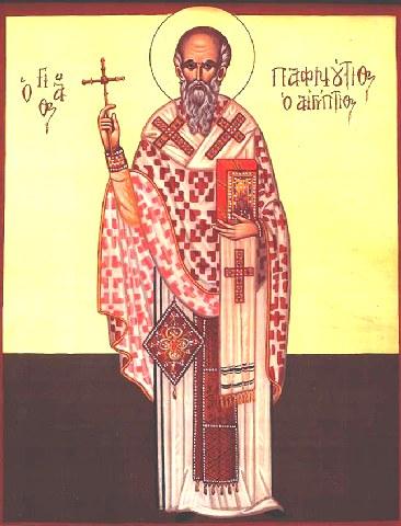Άγιος Παφνούτιος ο Ιεροσολυμήτης, Ιερομάρτυρας. 19 Απριλίου ε.ε.
