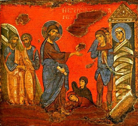 Η ιστορία του Ιησού - Λάζαρε δεύρο έξω. (Δείτε το - παιδικό διήγημα).