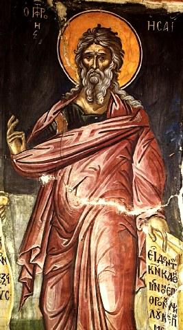 Προφήτης Ησαΐας. 9 Μαίου ε.ε.