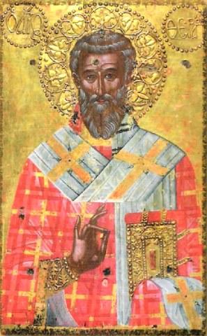 Άγιος Θεράπων επίσκοπος Κύπρου. 14 Μαϊου ε.ε.