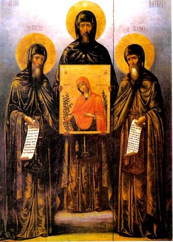 Όσιοι Νικήτας, Ιωάννης και Ιωσήφ οι κτήτορες της Νέας Μονής Χίου. 20 Μαϊου ε.ε.