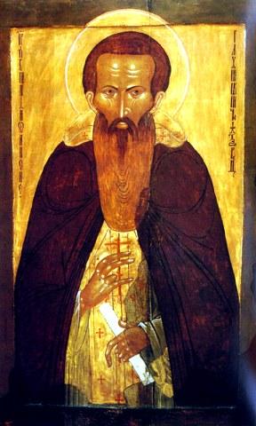 Όσιος Διονύσιος του Γλουσέτσκ ο Θαυματουργός. 1 Ιουνίου ε.ε.