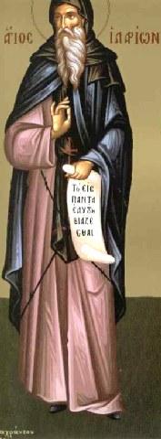 Όσιος Ιλαρίων ο νέος, ηγούμενος Μονής Δαλμάτων. 6 Ιουνίου ε.ε.