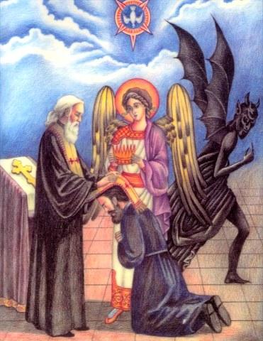 Όσιος Ιάκωβος ο εξ απάτης τον διάβολον προσκυνήσας. 13 Ιουνίου ε.ε ...