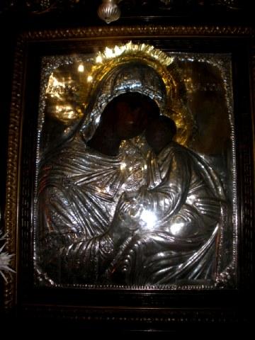 Εύρεση της Ιεράς Εικόνας της Παναγίας της Ελεούσας στην Ξυνιάδα Δομοκού. 21 Ιουνίου ε.ε.