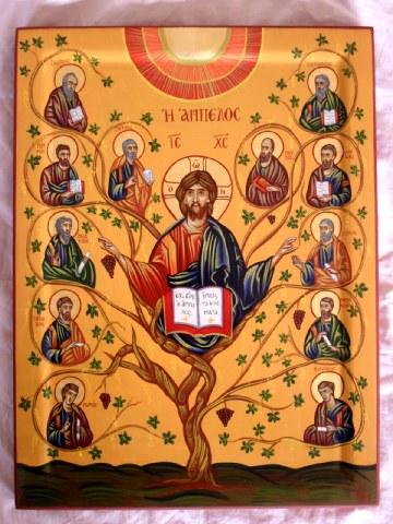 Σύναξη των Αγίων Δώδεκα Αποστόλων. 30 Ιουνίου ε.ε.
