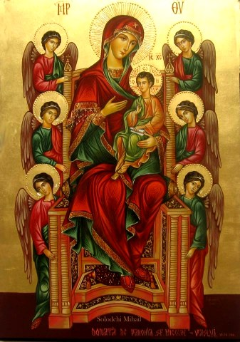 Παναγία: το έμψυχον του Χριστού αρτοφόριον.