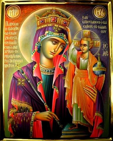 Πως ήταν τα φυσικά χαρακτηριστικά της Παναγίας; (αγίου Νικοδήμου Αγιορείτου).