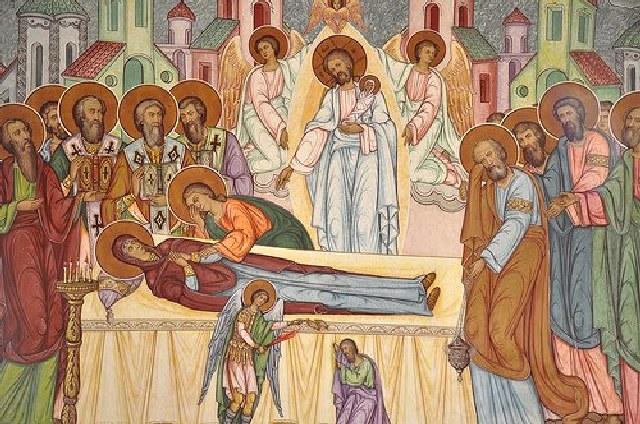 Λόγος εις την Κοίμησιν της Θεοτόκου. Αγίου Λουκά αρχιεπισκόπου Κριμαίας.