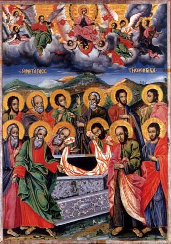 «Η μετάσταση της Θεοτόκου».