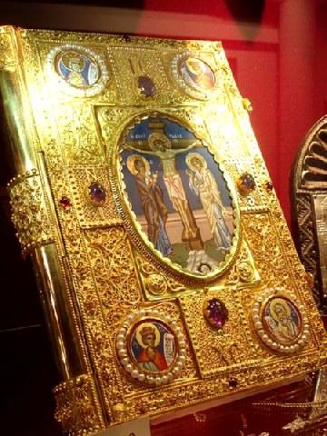 Ευαγγελικὸ Ανάγνωσμα Κυριακής, μετά την ύψωση του Τιμ. Σταυρού (Μάρκ. η 34 - θ 1)
