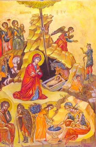 Ετοιμάζου Βηθλεέμ, ήνοικται πάσιν η Εδέμ, ευτρεπίζου Ευφραθά, ότι το ξύλον της ζωής...