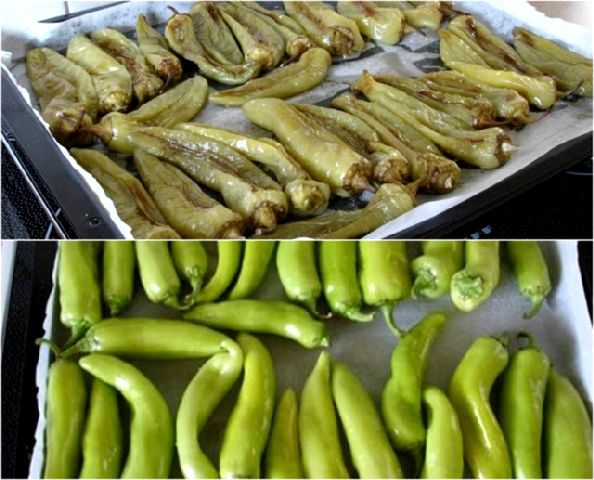 Πράσινες πιπεριές κι ο τρόπος που τις φτιάχνουμε σε βαζάκια !