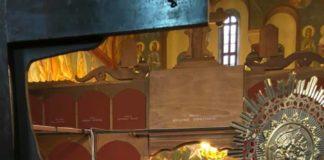 Κοσμοσυρροή στον Ιερό Ιδρυματικό Ναό στην Χριστουγεννιάτικη Θ. Λειτουργία