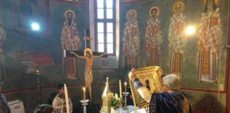 Θεοφάνεια στον Ιδρυματικό Ναό του Αγίου Τρύφωνος Ρόδου