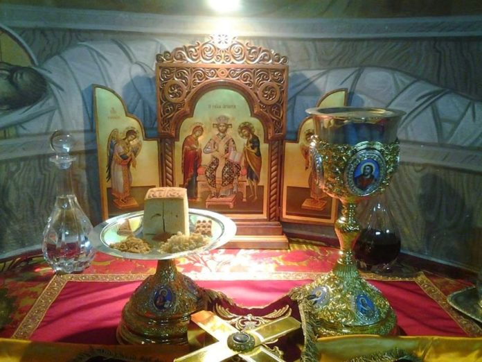 Tα τίμια δώρα της θείας Λειτουργίας - Άγιος Νικόλαος Καβάσιλας
