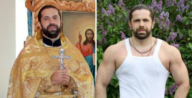 Ο Ρώσος Ορθόδοξος ιερέας που έχει dan στο καράτε και είναι πρωταθλητής στην άρση βαρών