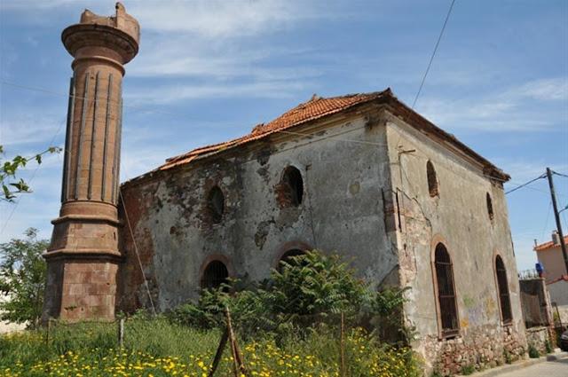 Μυτιλήνη - Δίνουν 1,2 Εκατ. Ευρώ Για Αναστήλωση Μισογκρεμισμένου Οθωμανικού Τζαμιού την ώρα που γκρεμίζουν Σταυρούς