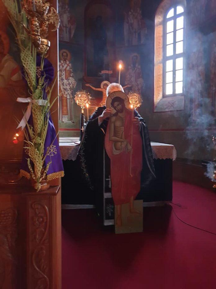 Με κατάνυξη τελέσθηκε η Ακολουθία του Νυμφίου στον Ιερό Ιδρυματικό Ναό του Αγίου Τρύφωνος Ρόδου. (Φωτογραφίες)