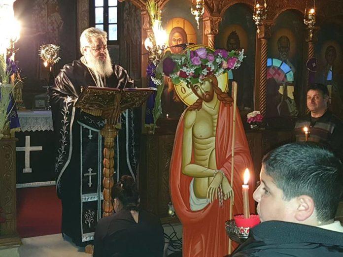 Ρόδος : Μεγάλη Τρίτη στον Ιερό Ιδρυματικό Ναό του Αγίου Τρύφωνος Ρόδου. (Φωτογραφίες)
