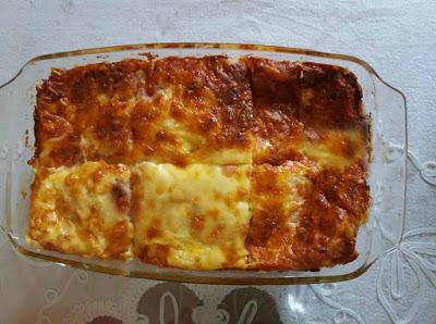 Σουφλέ νοστιμότατο με ψωμί τοστ και τυριά !