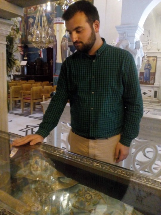 Ευχή για προστασία - Αγίου Ιωάννου του Ρώσου - Ψάλλει ο Δημήτριος Παπαγιαννόπουλος