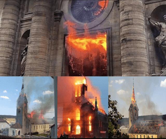 ΧΡΙΣΤΙΑΝΟΦΟΒΙΑ ΣΤΗΝ ΕΥΡΩΠΗ Η Notre Dame ήταν το αποκορύφωμα. Είναι μακρύς ο κατάλογος των εκκλησιών που κάηκαν στη Γαλλία 2018-2019. Eνώ 104 ναοί βεβηλώθηκαν από την αρχή του 2019.