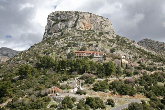 Μονή Γοργοεπηκόου Νεστάνης - Χειροτονία Διακόνου και εγκατάσταση νέου Ηγούμενου