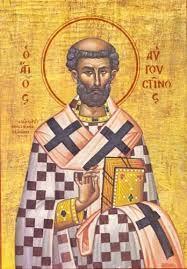 Ο Άγιος Αυγουστίνος Επίσκοπος Ιππώνος τιμάται στις 15 Ιουνίου ε.ε.