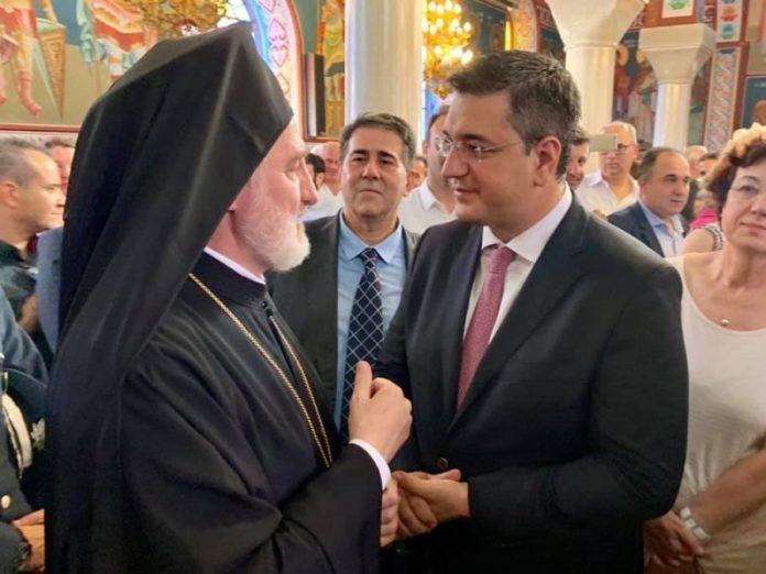 Απ. Τζιτζικώστας: Μεγάλη τιμή η επίσκεψη του νέου Αρχιεπισκόπου Αμερικής στη Μακεδονία