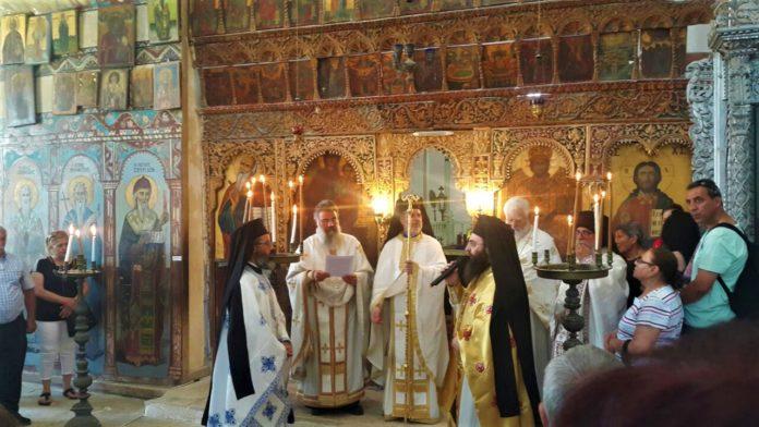 Πανηγυρική Θεία Λειτουργία στην κατεχόμενη Μονή του Αποστόλου Βαρνάβα