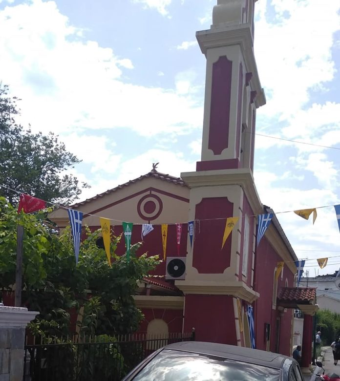 Κέρκυρα : Ιερός Ναός Αγίας Τριάδας Κοντοκαλιού Κέρκυρας (Φώτο)