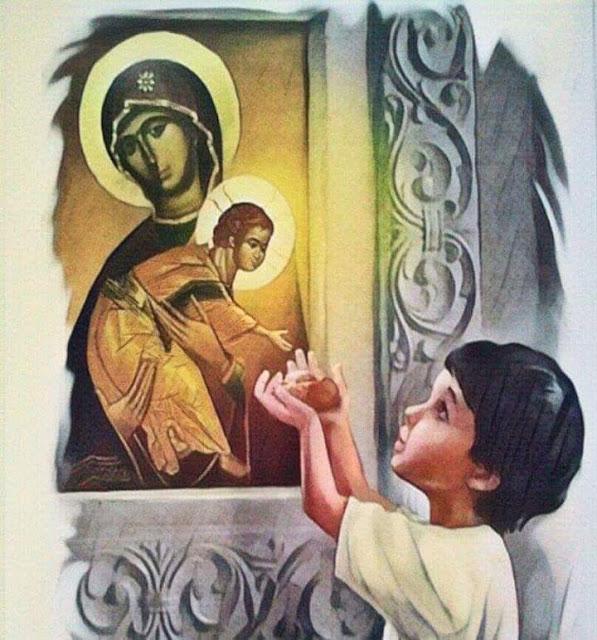 Όσιος Ονούφριος : Ο Άγιος που τάιζε ψωμί τον μικρό Χριστό...