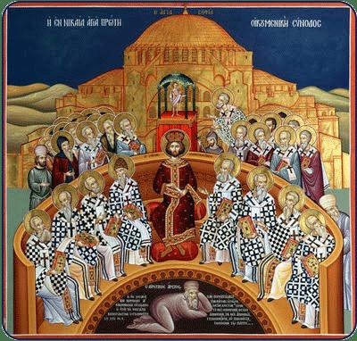 Κυριακή Αγίων Πατέρων Α´ Οικουμενικής Συνόδου: Ακολουθία Όρθρου, Μουσικά κ.α.
