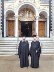 Ο Μητροπολίτης Πατρών κ.κ. Χρυσόστομος στην Ιερά Πατριαρχική Μονή Οσίας Ειρήνης της Χρυσοβαλάντου, Αστόριας