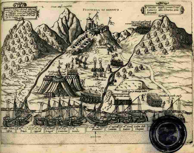 10 Ιουνίου 1570: Η απελευθέρωση του κάστρου του Σοποτού από τις κοινές δυνάμεις Χιμαραίων - Βενετών