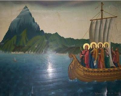 Άγιο Όρος : Γνωρίζετε ότι η Παναγία τα βράδια γυρνά στα Μοναστήρια, σε Σκήτες, Κελιά και βλέπει τι κάνουν οι Μοναχοί ;