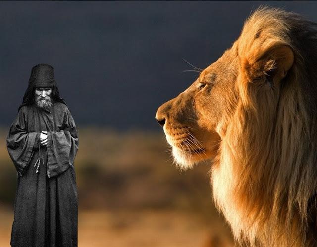 Ένα ευσεβές λιοντάρι