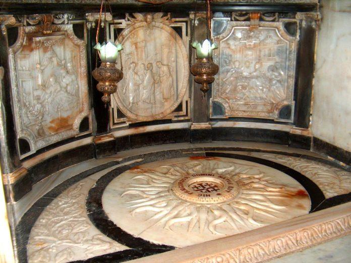 Ο τόπος της γέννησης του Αγίου Ιωάννη του Προδρόμου