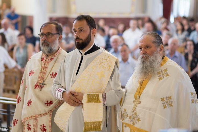 Αρχιεπισκοπή Αλβανίας : Χειροτονία του Διακόνου Εμμανουήλ σε Πρεσβύτερο από τον Αλβανίας κ.κ. Αναστάσιο